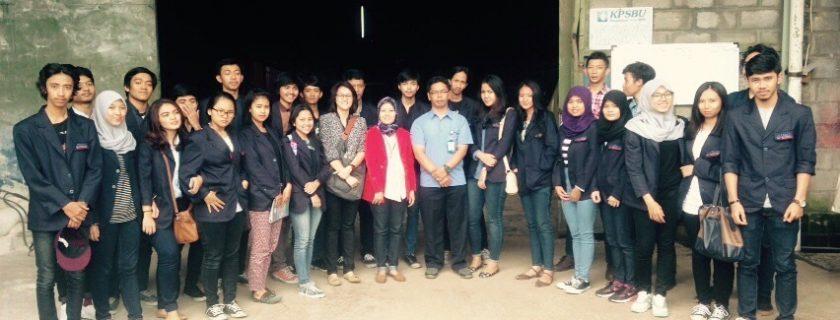 Kunjungan Perusahaan Mahasiswa Prodi. Manajemen D3 Ke KPSBU Jabar