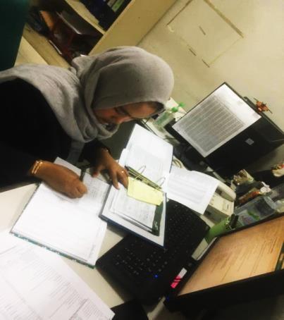 Aktivitas Kerja Mahasiswa Magang