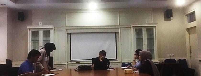 Foto Kegiatan NUDC di Tingkat Universitas, 29 Maret 2019